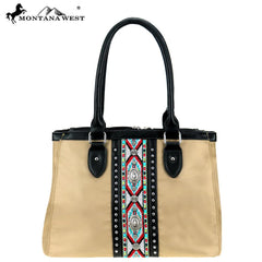 MW897-8270 Montana West Aztec Collection Satchel