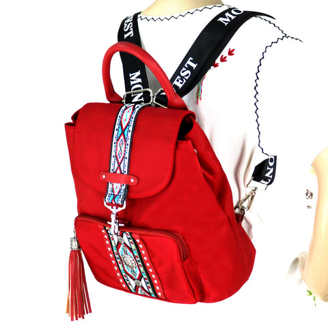 MW897-9110 Montana West Aztec Collection Backapack