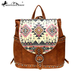MW899-9110 Montana West Aztec Collection Backpack