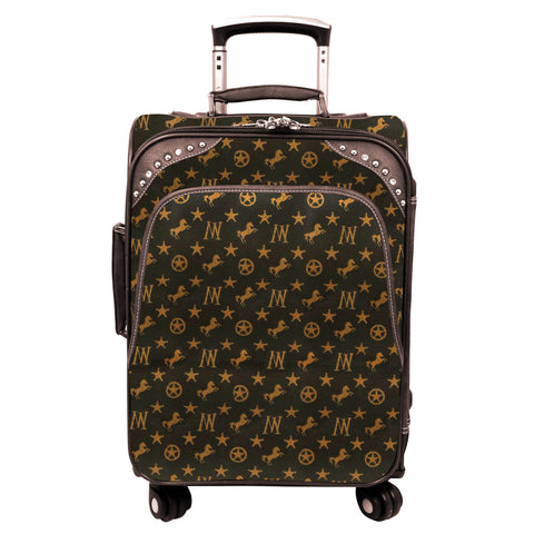 MW903-L1/2/3 Montana West Signature Western Monogram Collection 3 PC Luggage Set
