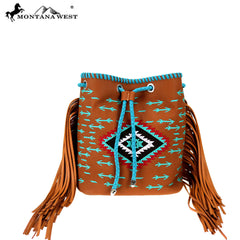 MW904-8275 Montana West Aztec Collection Backpack