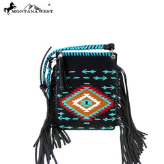 MW904-8360 Montana West Aztec Collection Crossbody