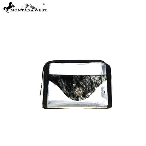 MW906-190 Montana West Clear Travel Pouch