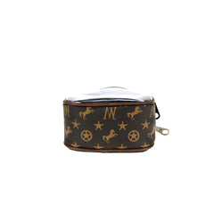 MW907-187 Montana West Signature Monogram Mini Bag/Crossbody