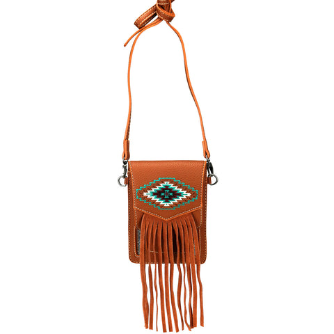 MW916-190 Montana West Aztec Collection Phone Wallet/Crossbody