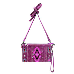 MW920-183 Montana West Aztec Collection Clutch/Crossbody