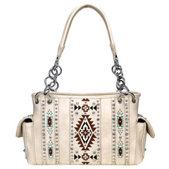 MW920G-8085  Montana West Aztec Collection Concealed Carry Satchel
