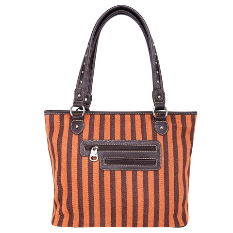 MW977-8112 Montana West Aztec Canvas Tote Bag
