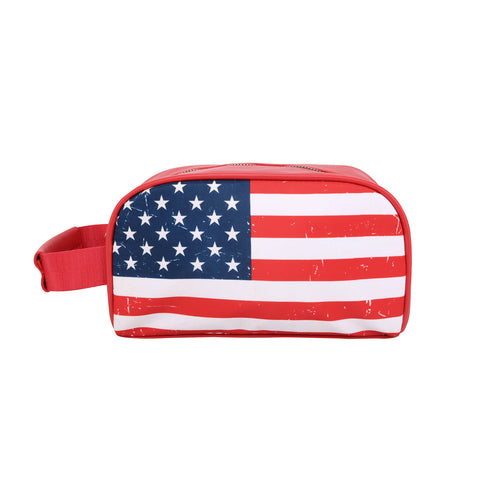 MW933-190  Montana West American Flag Print Multi Purpose/Travel Pouch