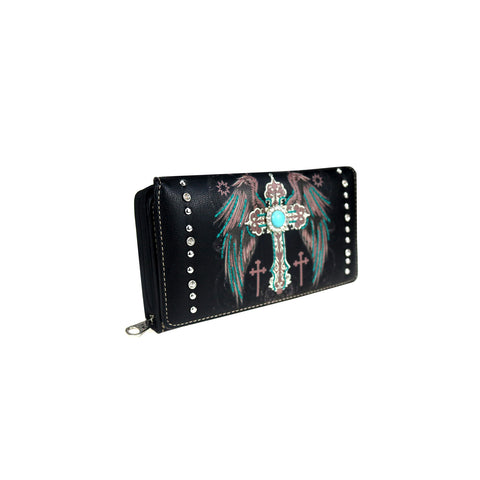 MW945-W010 Montana West Spiritual Collection Wallet