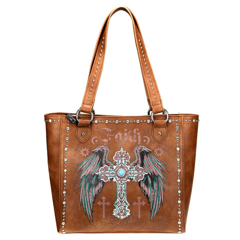 MW945G-8317 Montana West Spiritual Collection Concealed Handgun Tote
