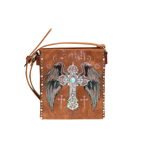 MW945G-9360 Montana West Spiritual Collection Concealed Carry Crossbody