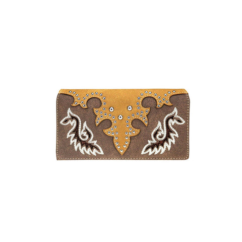 MW946-W010 Montana West Embroidered Collection Wallet