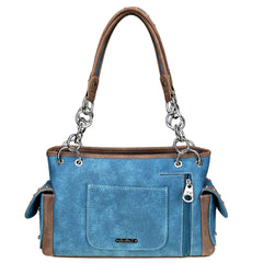 MW946G-8085 Montana West Embroidered Collection Concealed Carry Satchel