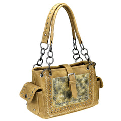 MW947G-8085 Montana West Buckle Collection Concealed Carry Satchel