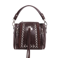 MW948-9288 Montana West Concho Collection Crossbody/Mini Satchel