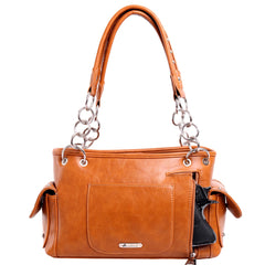 MW948G-8085 Montana West Concho Collection Concealed Carry Satchel