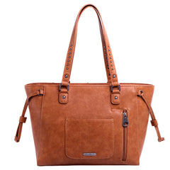 MW949G-8317 Montana West Tooled Collection Concealed Carry Wide Tote