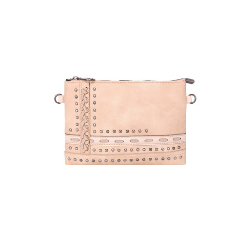MW952-181 Montana West Studded Collection Clutch/Crossbody