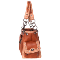 MW952G-8085 Montana West Concho Collection Concealed Carry Satchel
