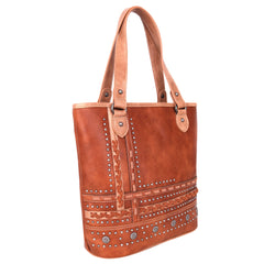 MW952G-8575 Montana West Concho Collection Concealed Carry Tote