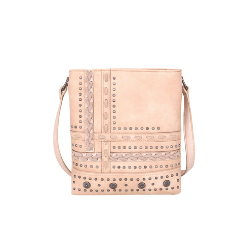 MW952G-9360 Montana West Studded Collection Concealed Carry Crossbody