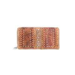 MW954-W010 Montana West Tooled Collection Wallet