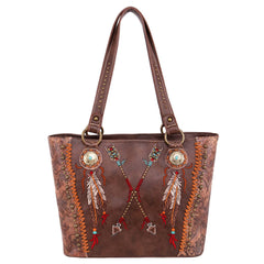MW986G-8317  Montana West Aztec Collection Concealed Carry Tote