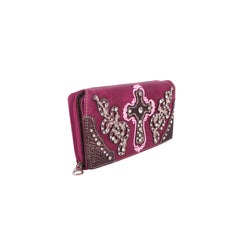 MW995-W010 Montana West Spiritual Collection Wallet