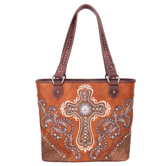 MW995G-8317  Montana West Spiritual Collection Concealed Carry Tote