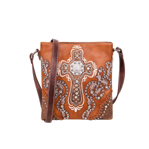 MW995G-9360 Montana West Spiritual Collection Concealed Carry Crossbody