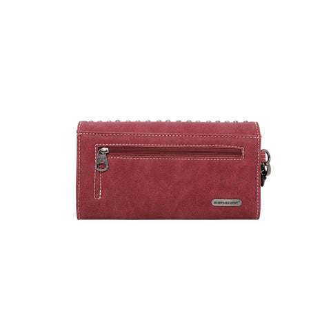 MW996-W018 Montana West Embroidered Collection Wallet