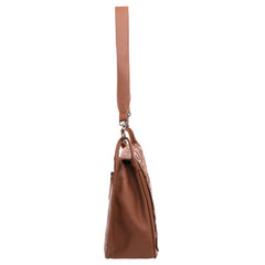 MWL-017 Montana West Real Leather Studs Collection Hobo
