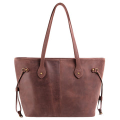 MWL-G002 Montana West Real Leather Dual Sided Concealed Carry Wide Tote