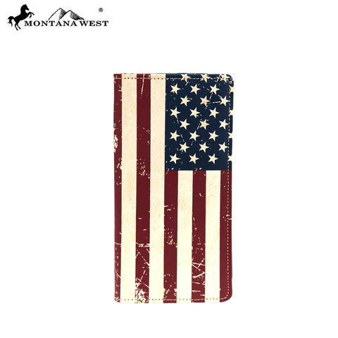 MWL-US01 Genuine Patriotic Collection Men's Wallet