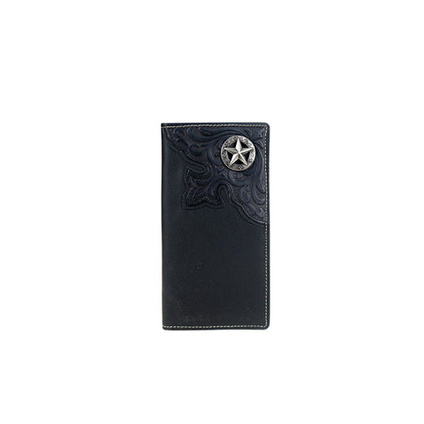 MWL-W031 Genuine Tooled Leather Collection Men's Wallet