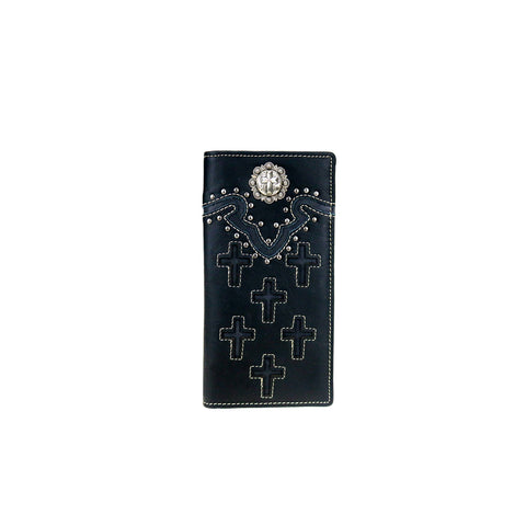 MWL-W032 Genuine Leather Spiritual Collection Men's Wallet