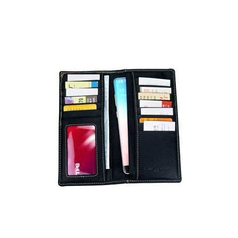 MWL-W034 Genuine Hair-On Leather Spiritual Collection Men's Wallet