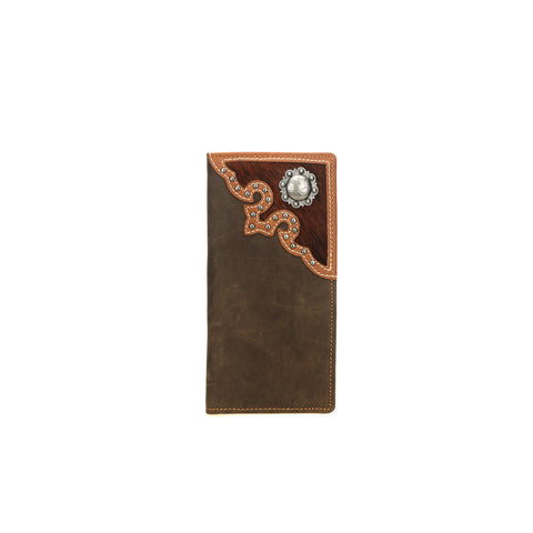 MWL-W033 Genuine Hair-On Leather Collection Men's Wallet