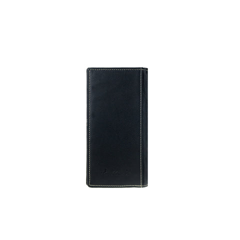MWL-W035 Genuine Hair-On Leather Pistol Collection Men's Wallet