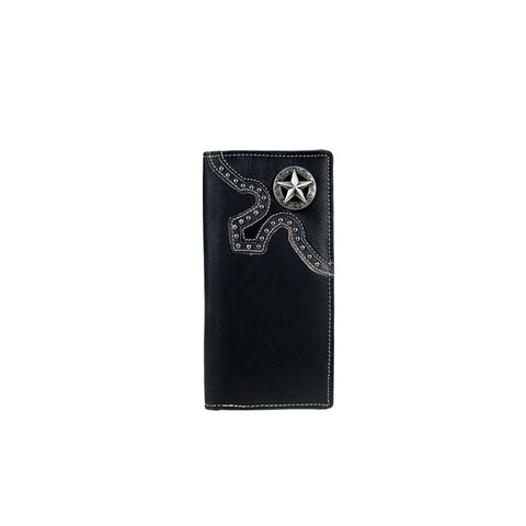 MWL-W037 Genuine Leather Lone Star Collection Men's Wallet