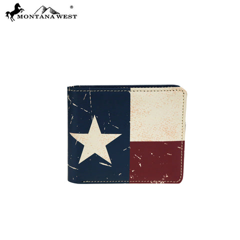 MWS-TX01 Genuine Leather Patriotic Collection Men's Wallet