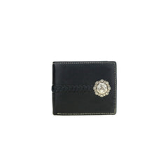 MWS-W011 Genuine Leather Pistol Collection Men's Wallet