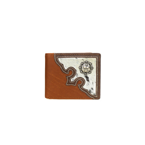 MWS-W026 Genuine Hair-On Leather Spiritual Collection Men's Wallet