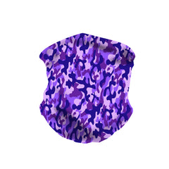 NFC-9002  Camo Print Neck Gaiter Face Mask Reusable, Washable Bandana /Head Wrap Scarf-1Pcs/Pack