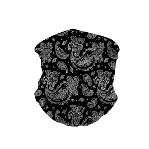 NFC-9006  Paisley Print Neck Gaiter Face Mask Reusable, Washable Bandana /Head Wrap Scarf-1Pcs/Pack