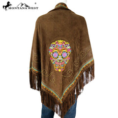 PCH-1661 Montana West Embroidered Collection Shawl