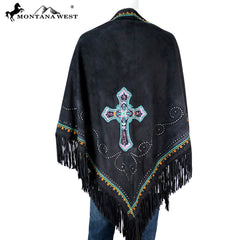 PCH-1662 Montana West Embroidered Collection Shawl