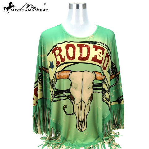 PCH-1689 Montana West Rodeo Collection Poncho
