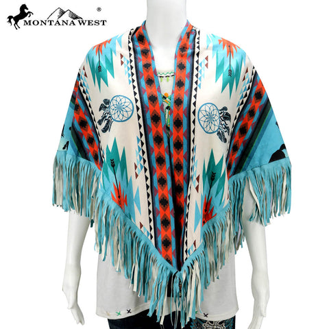 PCH-1694 Montana West Aztec Print Collection Shawl